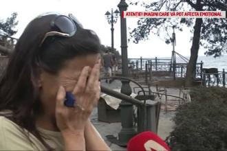Incendii în Grecia. Momentul în care o supraviețuitoare aproape că leșină relatând prin ce a trecut