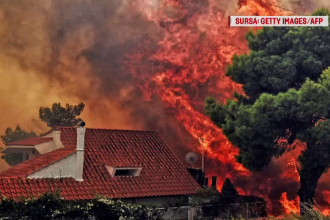 Bilanţul incendiilor devastatoare din Grecia a ajuns la 88 de morţi