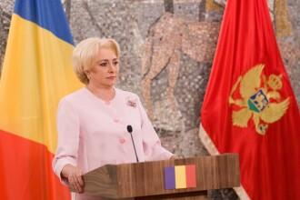 Prima reacţie din PSD după ce Viorica Dăncilă a încurcat Podgorica cu Priştina.