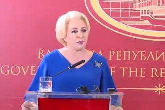 Dăncilă a plecat luni în concediu o săptămână. Și-a delegat atribuţiile vicepremierului Stănescu