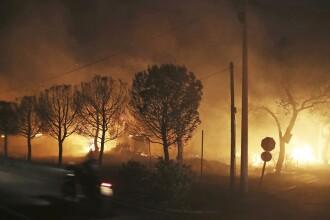 Primul raport despre cauza incendiilor din Grecia. Pompierii au identificat un vinovat