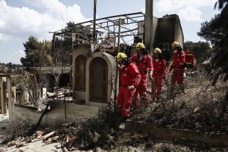 Autoritățile din Grecia vor demola clădirile construite ilegal, ca să evite un nou incendiu