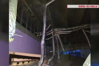 Măsurile luate în cazul tavanului prăbuțit peste clienții unui mall din Vaslui