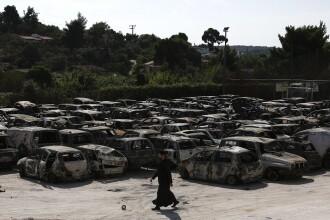 Incendiile din Grecia. Bilanțul a ajuns la 91 de morţi, printre care cel puţin 6 copii. Zeci de oameni sunt de negăsit