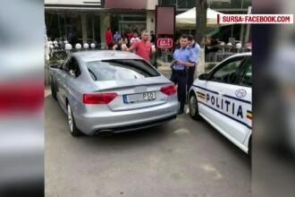 Şeful sindicatului poliţiştilor spune că şoferul maşinii cu numere anti-PSD nu a încălcat legea