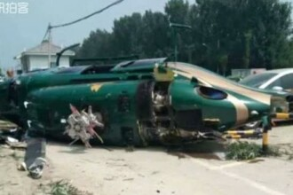 Un elicopter s-a prăbuşit în Beijing. Gestul eroic făcut de pilot înainte să moară