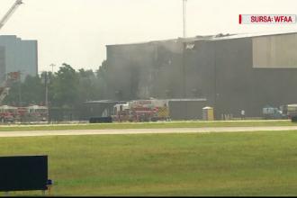 Tragedie aviatică în SUA. Cel puțin 10 morți, după ce avionul în care se aflau s-a prăbușit