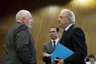 Summit-ul UE privind funcţiile cheie, în impas. Frans Timmermans nu are susținere