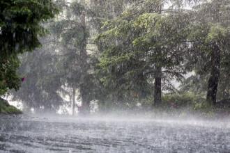 ANM: Ploi torențiale, grindină și vijelii, până vineri dimineață. Regiunile vizate