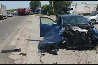 Imprudența la volan a făcut două victime la Cluj. O șoferiță nu a dat prioritate unui TIR