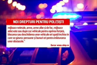 """Politiștii și jandarmii vor avea puteri sporite. """"Dau liber la bătut protestatari paşnici"""""""