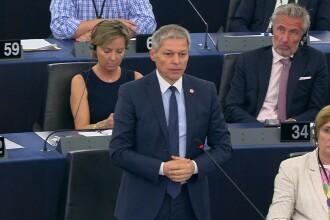 Discursul lui Dacian Cioloș în Parlamentul European a provocat hohote de râs. VIDEO