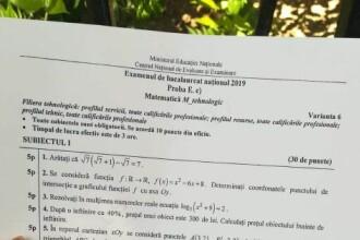 BAC 2019. Elevii au lansat o petiție prin care cer 20 de puncte din oficiu la matematică