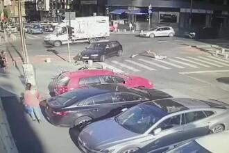 Incidente cu trotinete electrice în trafic. O tânără a fost lovită de o mașină