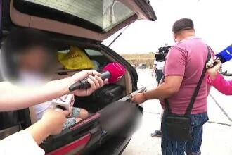 Un copil a fost găsit în portbagajul mașinii familiei sale, pe A2. Explicația tatălui