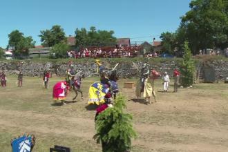 Lupte ca acum 1.000 de ani în Oradea. Reacția localnicilor: