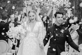 Sansa din GOT, în rochie de mireasă. Primele imagini de la nunta cu Joe Jonas