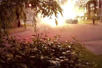 La un pas de tragedie din cauza unui joc cu artificii, de Ziua Independenței, în SUA
