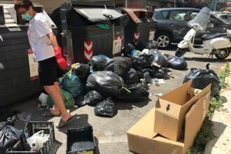 Cazul româncei ce riscă o amendă pentru că a strâns gunoiul în Roma. Reacţia autorităţilor