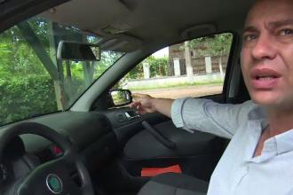 Un primar susține că s-a trezit cu mașina vandalizată. Filmul scandalului din Dâmbovița