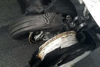 Ce s-a întâmplat cu pasagerii avionului TAROM ale cărui roţi au explodat la aterizare