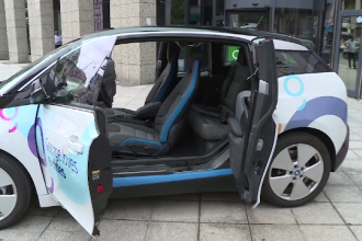 Serviciile de car-sharing au ajuns şi în România. Cât costă un minut
