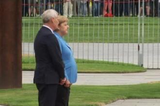 """Merkel, surprinsă tremurând incontrolabil pentru a treia oară. """"Mă simt bine"""""""