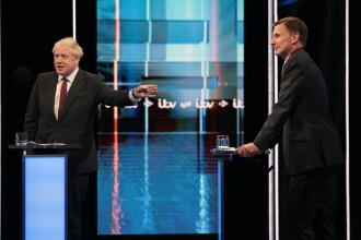 Boris Johnson şi Jeremy Hunt s-au confruntat într-o dezbatere TV pentru funcția de premier