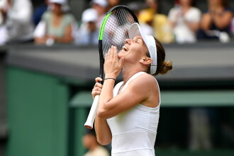 Reacția legendelor din tenis după calificarea Simonei Halep în finala de la Wimbledon