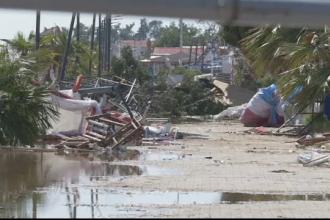 Corespondență din Grecia. Stațiunea lovită de furtună arată ca după asediu. 7 oameni au murit