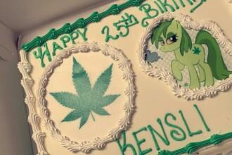 A comandat un tort cu Moana din filmul Disney și a primit unul cu marijuana. Reacția mamei