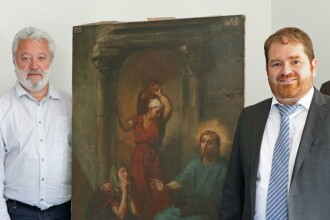Un german a încercat să vândă un tablou moştenit. De ce s-a trezit cu poliţia la uşă
