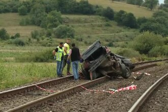 Descoperire în cazul şoferului mașinii spulberată de tren. Ce făcuse cu 2 zile în urmă