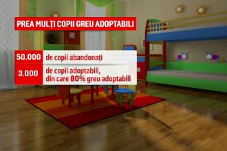 Legea adopţiilor ar putea fi simplificată. Copiii pe care românii nu-i doresc