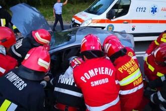 Accident grav la intrarea în Neptun. O şoferiţă de 25 de ani a ajuns în comă la spital