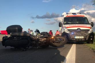 Patru persoane, la spital în urma a două accidente produse în Prahova. Greșeala unui motociclist