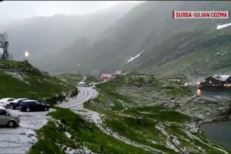 Ciclon deasupra României. Explicația fenomenului neobișnuit care a adus zăpada în iulie