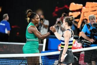 Simona Halep-Serena Williams. Halep joacă sâmbătă împotriva Serenei Williams în finala de la Wimbledon