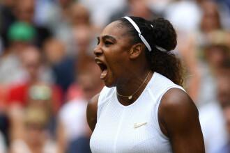Reacţiile uluitoare ale Serenei Williams atunci când câştigă o minge împotriva Simonei