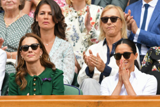 Reacția lui Kate și Meghan, după victoria Simonei Halep la Wimbledon 2019. FOTO + VIDEO