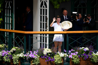 Site-ul oficial al turneului de la Wimbledon, mesaj după victoria lui Halep