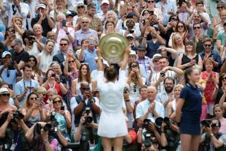 Simona Halep, prima campioană a României la Wimbledon. Victorie istorică, în mai puţin de o oră
