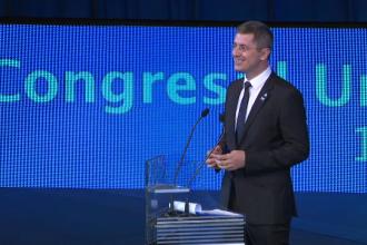 Congresul USR: Dan Barna, desemnat oficial candidatul USR la alegerile prezidențiale