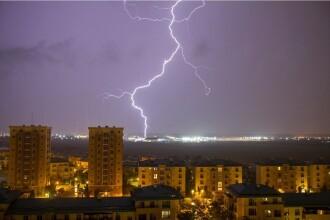 Cod galben de furtună în Bucureşti și Ilfov. Anunțul făcut de ANM
