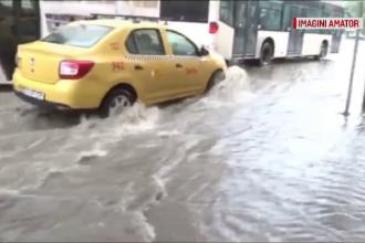 Fenomene extreme în jumătate din ţară. Tulcea, inundată după o ploaie de 20 de minute