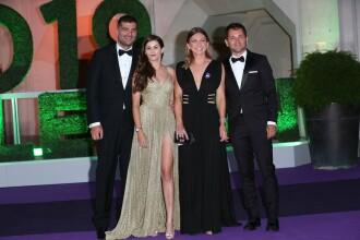 Cum a apărut Simona Halep alături de Novak Djokovic la Balul Campionilor de la Wimbledon