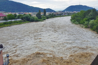 14 județe, sub cod galben de inundații. Până când va fi în vigoare alerta