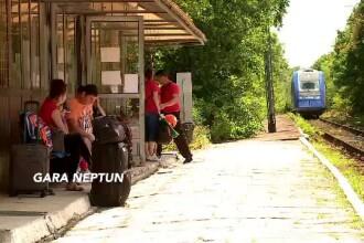 """Gara din România unde angajații CFR te trimit la toaletă în pădure. """"Coborâți în boscheți"""""""