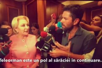 Reacţia premierului când Alex Dima întreabă despre sărăcia din Teleorman: