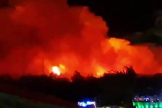 Incendiu uriaş la unul dintre cele mai mari festivaluri hip-hop din Europa
